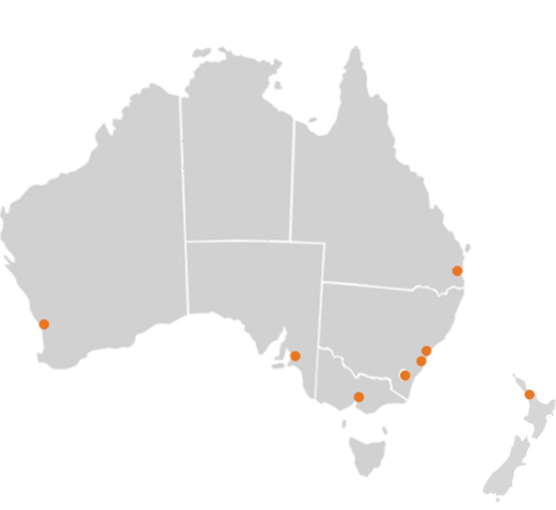 ReachLocal ANZ Locations